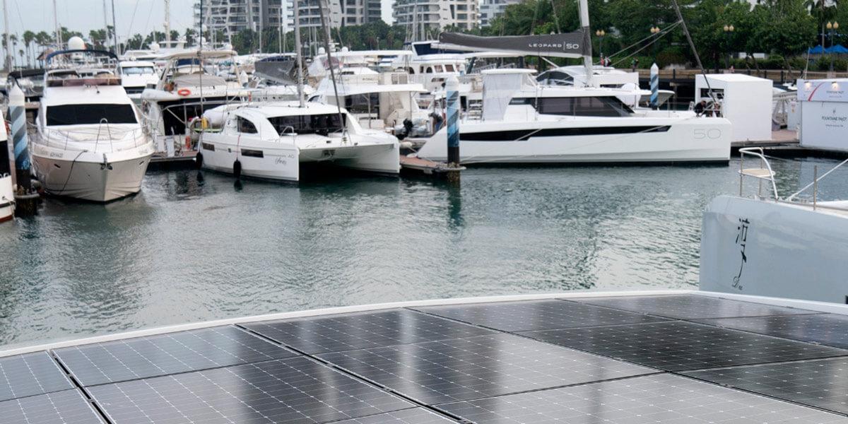 Transporte con paneles solares