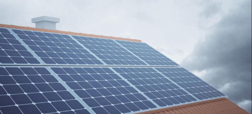 energía solar en invierno