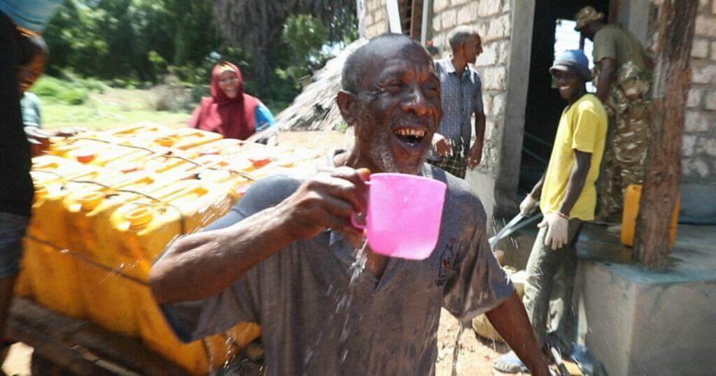 Kenia planta solar agua