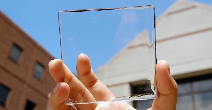 desarrollan panel solar transparente