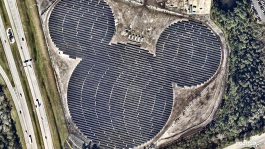 industria del entretenimiento instala paneles solares